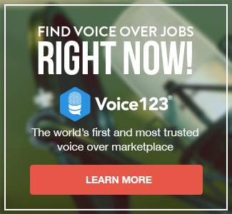 find voice over jobs now